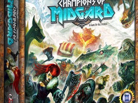 Contest Alert! Win a Copy of  Champions of Midgard