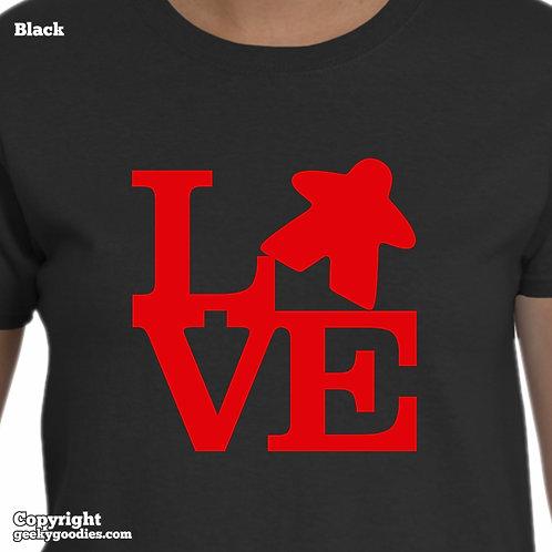 LOVE (Meeple) Women's T-shirt