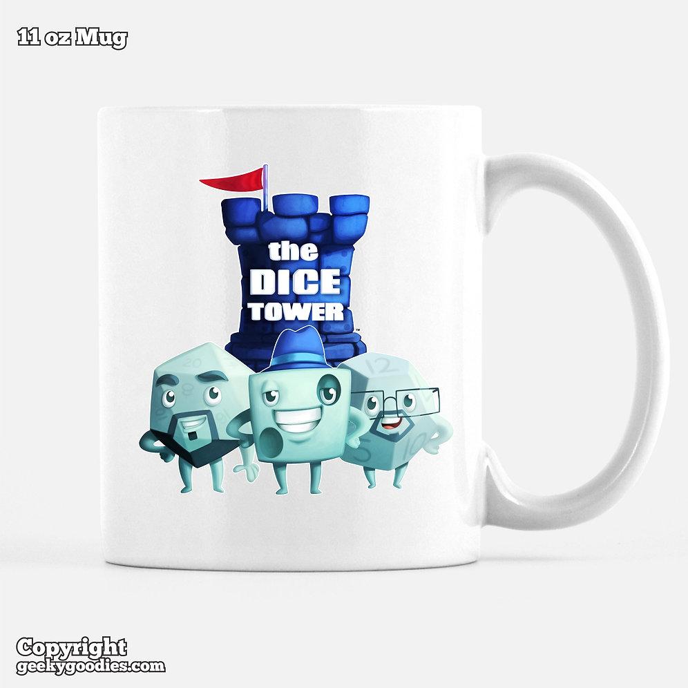 f02c10c351c The Dice Tower Dice Guys Coffee Mugs | geeky-goodies