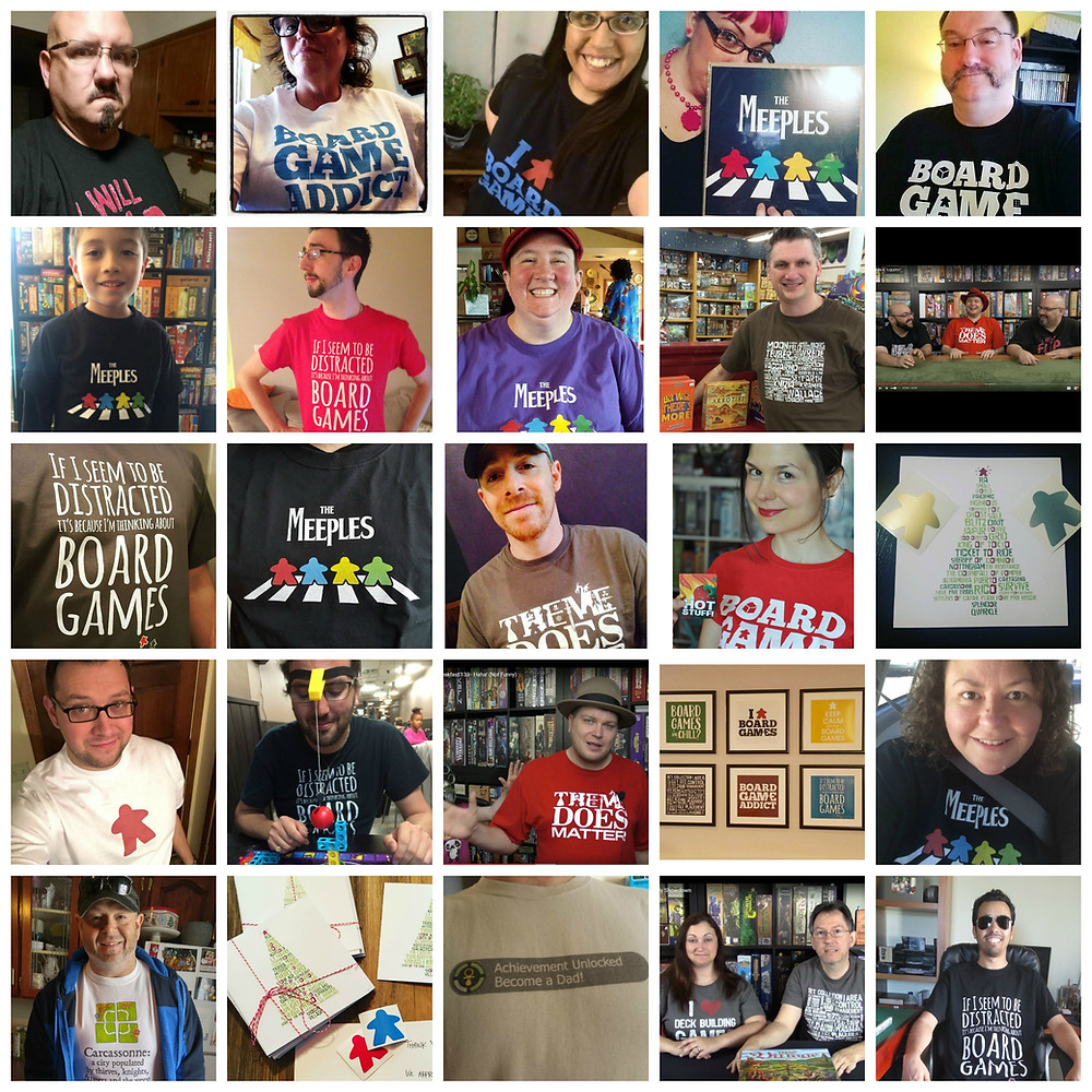 Gallery of Geeks | Geeky Goodies | T-shirts for Board Gamers and Other Geeks