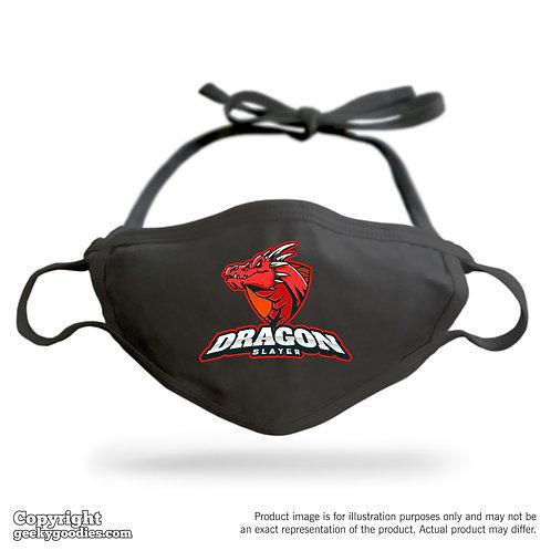 Dragon Slayer Adjustable Cloth Face Mask