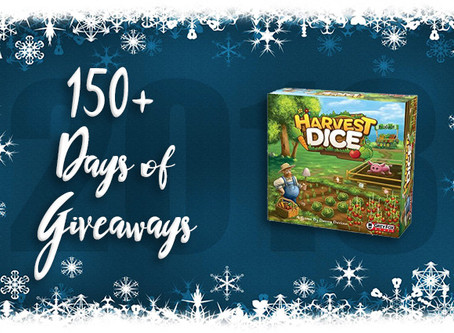 Contest Alert! Enter for a Chance to Win a Copy of Harvest Dice!