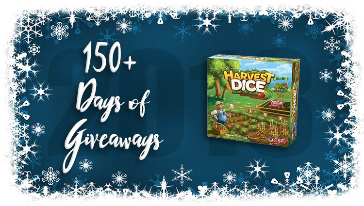 #ContestAlert Enter for a chance to WIN a copy of the super fun filler game, Harvest Dice!