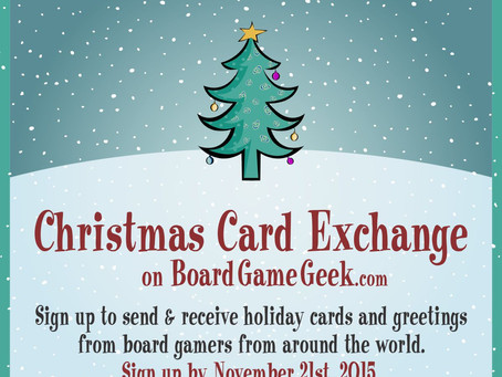 The Annual BGG Christmas Card Exchange - Sign-ups Are On!