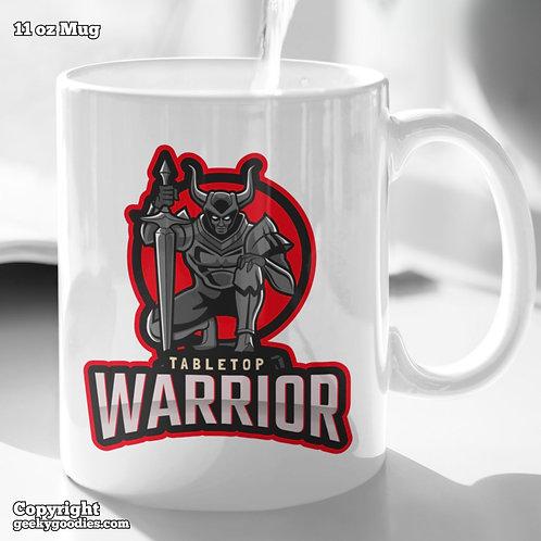 Tabletop Warrior Coffee Mugs