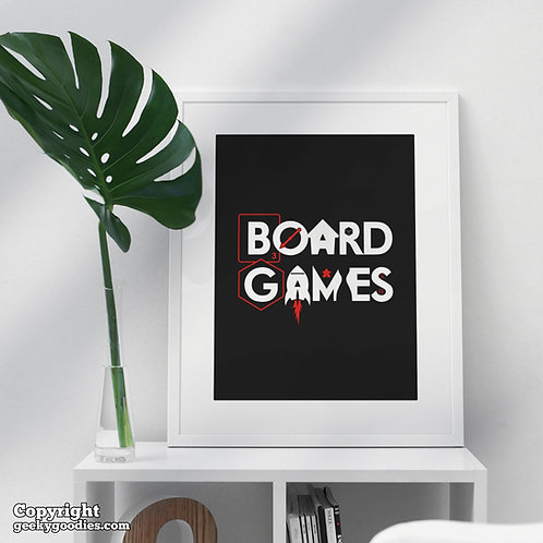 Board Games Poster