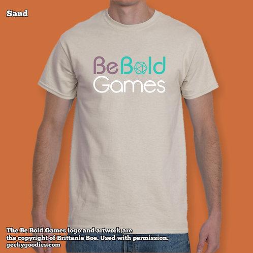 Be Bold Games Logo Mens/Unisex Light Color T-shirts