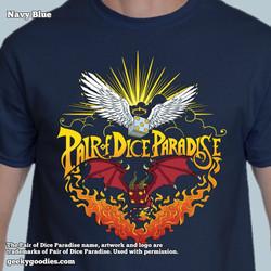Pair of Dice Paradise T-shirts