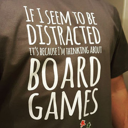 Thinking About Board Games T-shirt