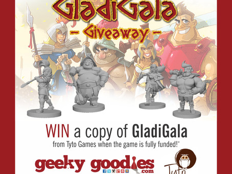 Board Game Giveaway! WIN a copy of GladiGala