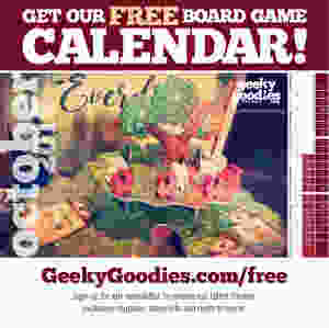 Get your FREE Board Game Calendar! Includes an easy-to-print PDF and a desktop calendar wallpaper version available now on our FREE STUFF page!