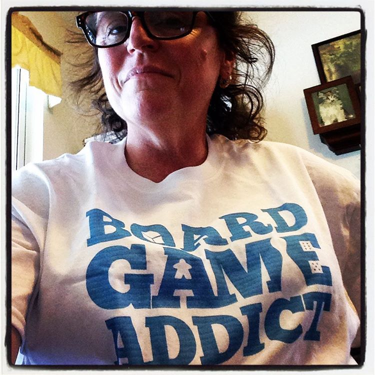 Board Game Addict Shirt