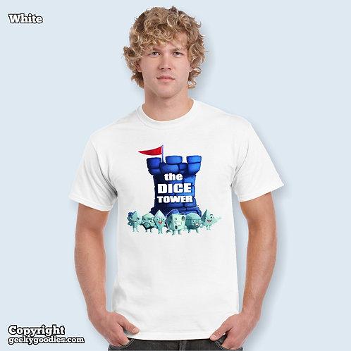 Dice Tower Gang Mens/Unisex White T-shirt