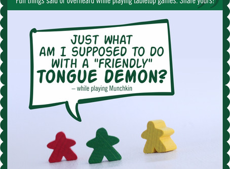 Board Game Quote of the Week - Munchkin