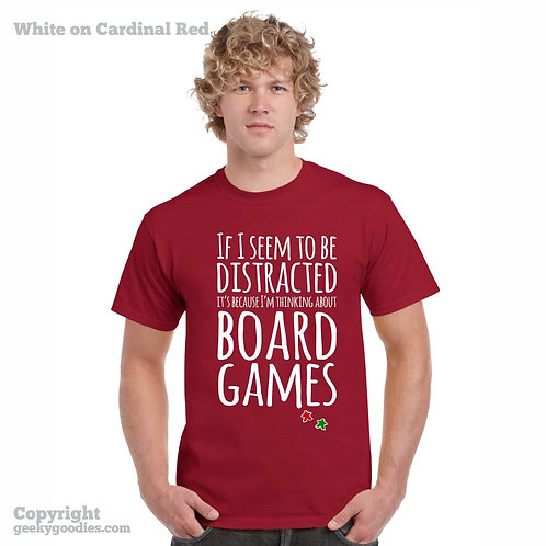 Thinking About Board Games Performance (Breathable) Shirt