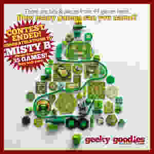 Holiday Contest Winner   Bits & Pieces Contest Winner   meeple   Geeky Goodies