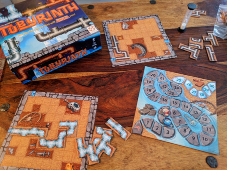 Tubyrinth Board Game Review