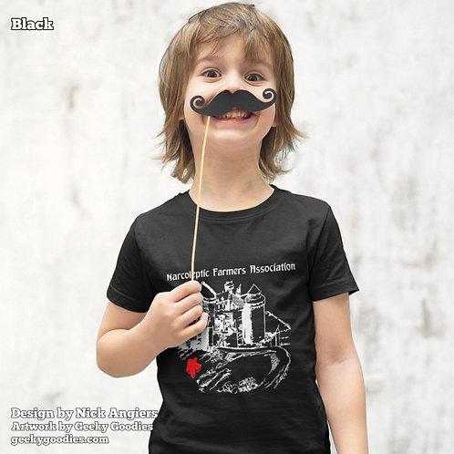 Narcoleptic Farmers Association Children's T-shirt