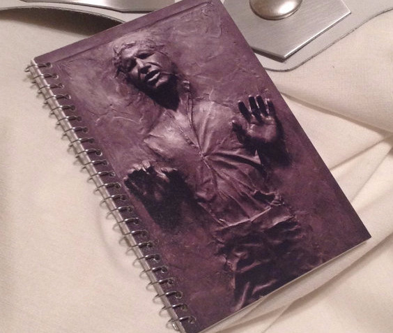 Han Solo In Carbonite Notebook | Geeky Goodies