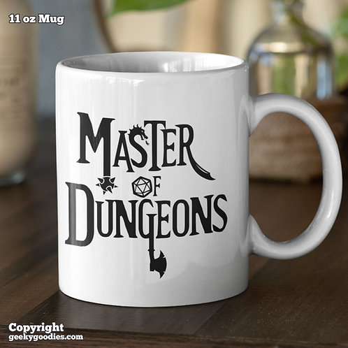 Master of Dungeons Coffee Mugs