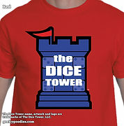 The Dice Tower T-shirts | Geeky Goodies | Boardgaming T-shirts