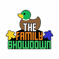 The Family Showdown | Licensed board game merchandise on Geeky Goodies