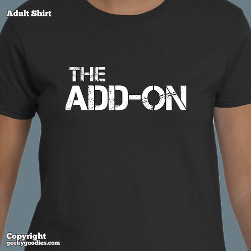 The Add-on Ladies T-shirt (Matching Board Game Family T-shirts)