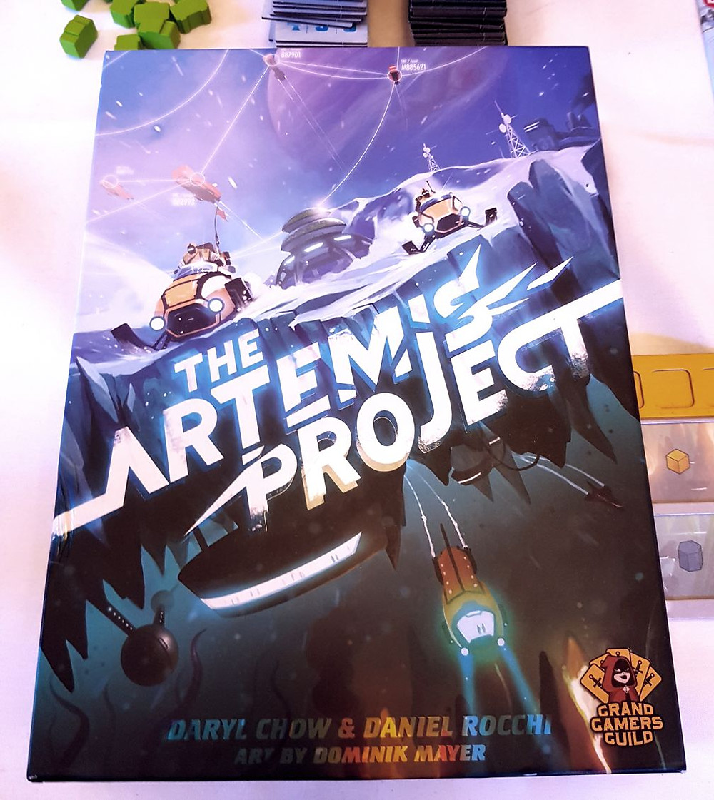 The Artemis Project Box Cover | Photo by Michael Chang. Used with permission.
