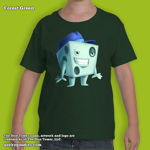 Dice Tom (from The Dice Tower) Children's T-shirt