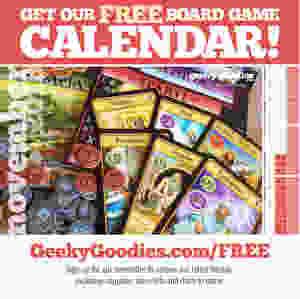 Board Game Calendar   FREE calendar for board gamers   Geeky Goodies   Free stuff