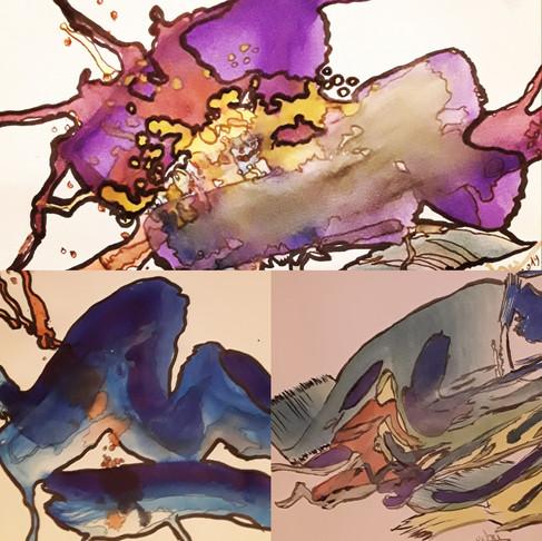 Naît-on artiste? Difference entre le créateur professionnel et le peintre amateur?