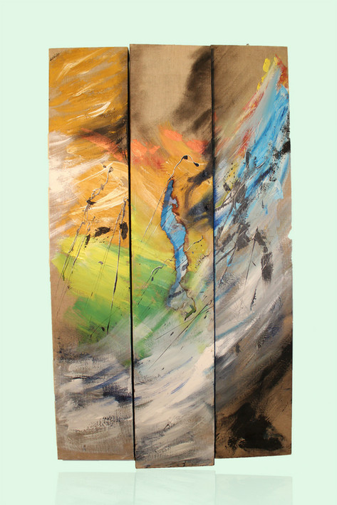 art abstrait nathacha série couleurs