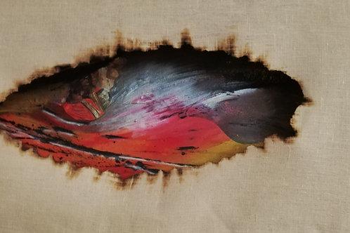 CHUMANI série woman siginifie Goutte de rosée- 94x45cm - communauté sioux