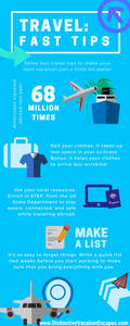 Infographic: travel tips