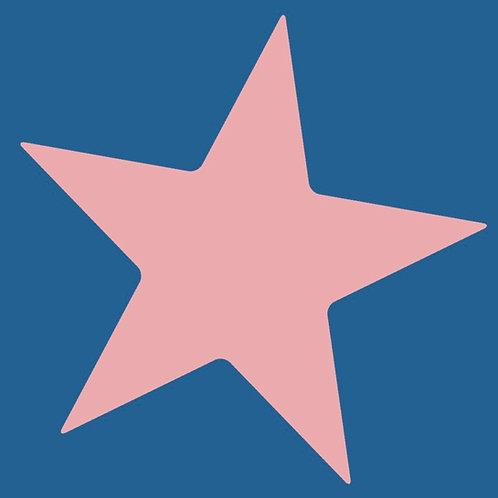 star (pink/blue)