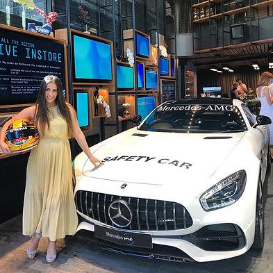 Mikaela Phillips Australian Mercedes Grand Prix