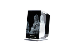 Mona Lisa en verre de cristal Premium