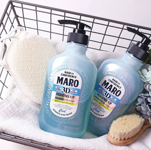 MARO 3D VOLUME UP SHAMPOO COOL