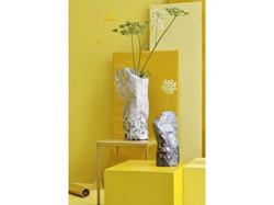 Vase de fleurs en papier, Hendrick Avercamp