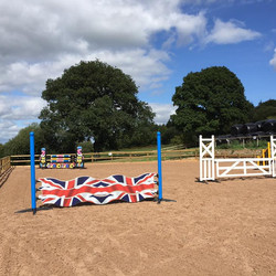 May Hill Farm and Livery, Show Jumps