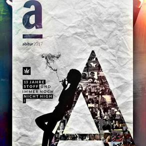 Designed: Konzept für Abizeitung und Abiball im kommenden Jahr!