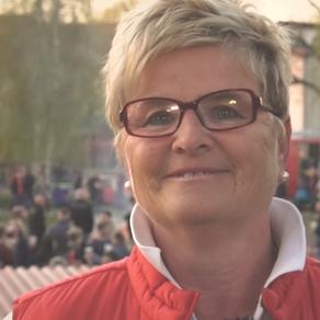 """Protagonistin Margitta Pache in """"Kleine Stadt - großes Herz"""""""