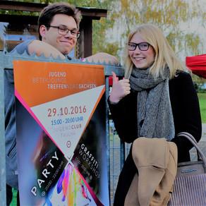 Plakat-Design fürs nord-sächsische Jugendbeteiligung-streffen 2016