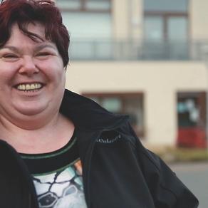 """Protagonistin Birgit Richter in """"Kleine Stadt - großes Herz"""""""
