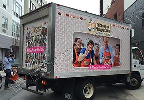 Truck Wrap for Event NYC