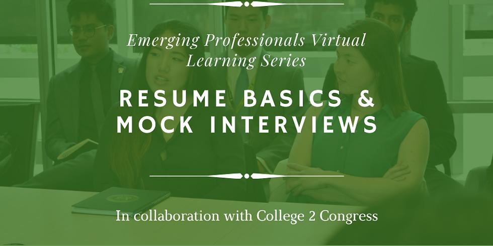 Emerging Professional Webinar: Resume Basics