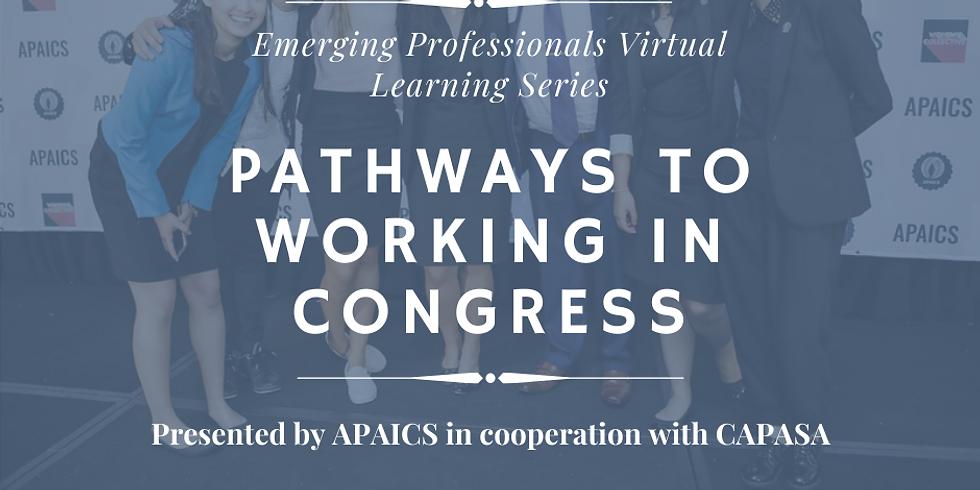 Emerging Professionals Webinar: Pathways to Working in Congress