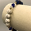 "Thumbnail: Howlite Lapis Lazuli Gold Bracelet 7.25"""