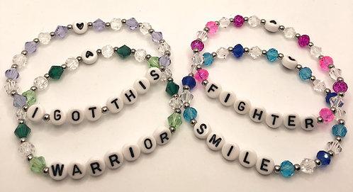 Crystal & Stainless Steel Bracelet