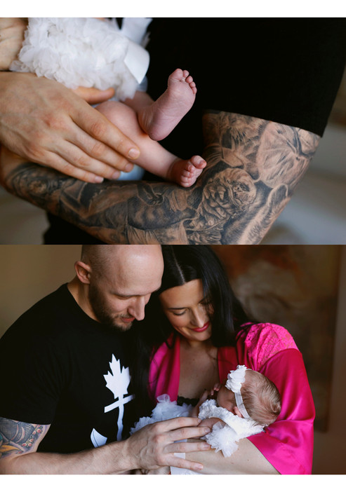 Shannon & Mike - Newborn Isla Preview